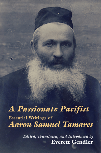 "Cover: ""Passionate Pacifist"""